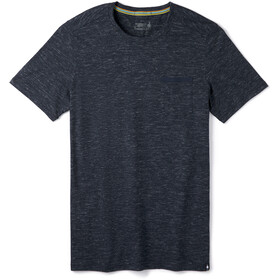 Smartwool Everyday Exploration Camiseta Bolsillo Hombre, deep navy heather